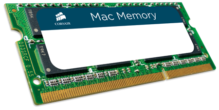 MEM CORSAIR 4GB PC1066 CL7 DDRIII MAC