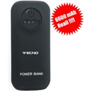POWER BANK 6600mAh TECNO TC PB6600W