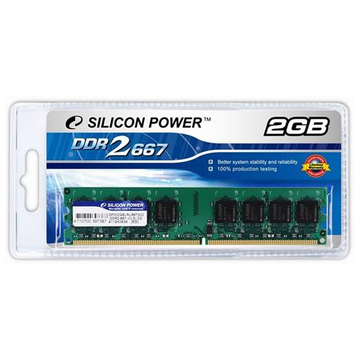 MEM SILICON POWER 2GB 667  DDR II