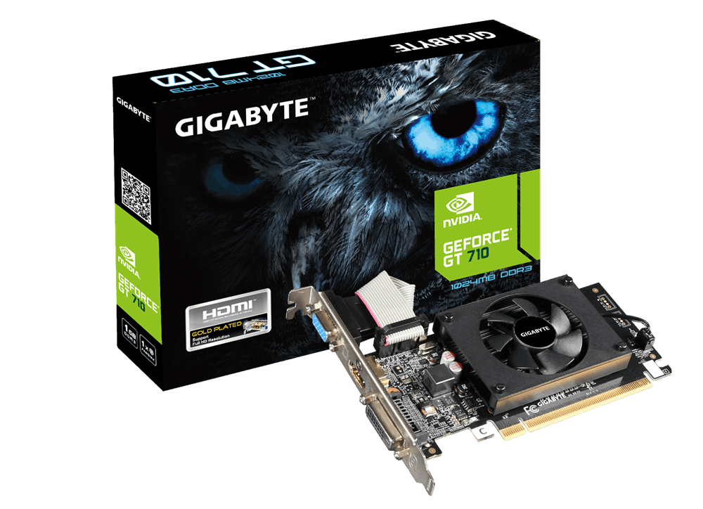 SK VIDEO GIGABYTE 710 1GB D3 Rev.2.0