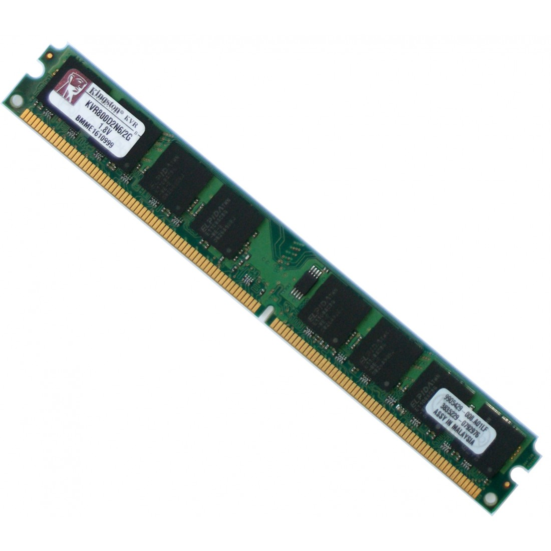 RAM KINGSTON 2GB PC2-6400 DDR2-800 CL6
