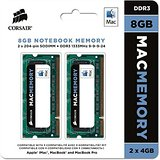 MEM CORSAIR 2x4GB PC1066 CL7 DDRIII MAC