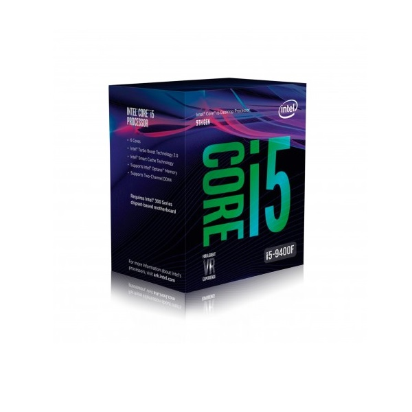 CPU INTEL COREi5-9400f 2.9G SIX CORE 9MB SK1151