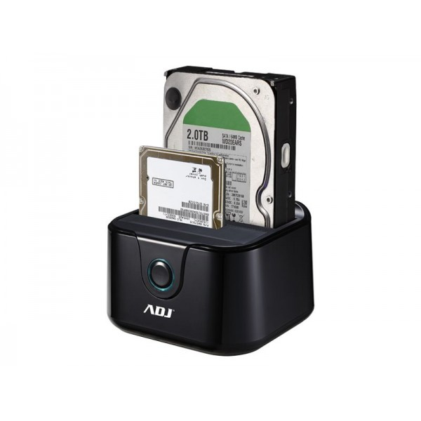 DOCKING STATION ADJ DOUBLE USB 3.0
