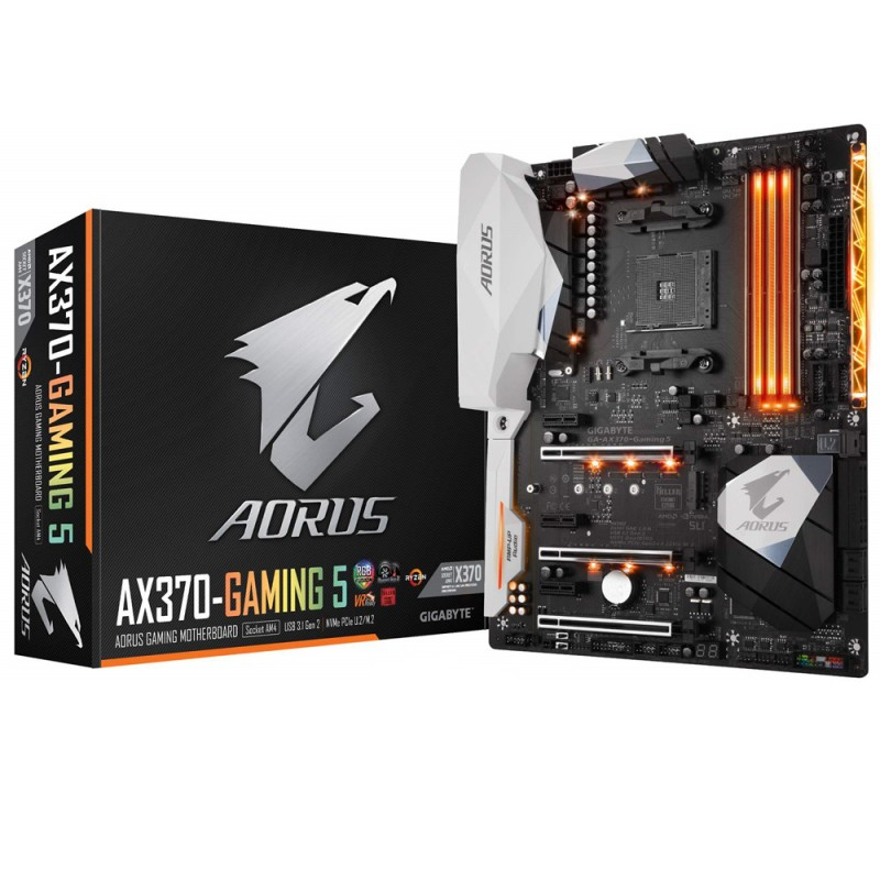 MB GIGABYTE AOURUS GAMING K5  X370 AM4