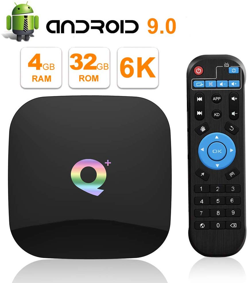 BOX ANDROID 6K TV BOX 4GB 4CORE T720MP2