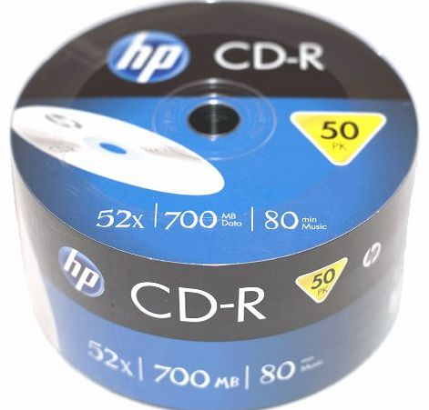 CD-R 52X HP PRINTABLESHRINK 700MB 50PZ