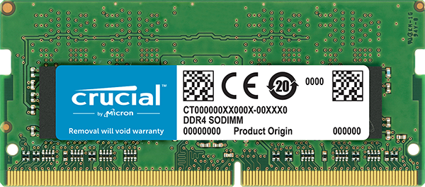 MEM CRUCIAL 8GB 2400 DDR4 CL17 NOTEBOOK