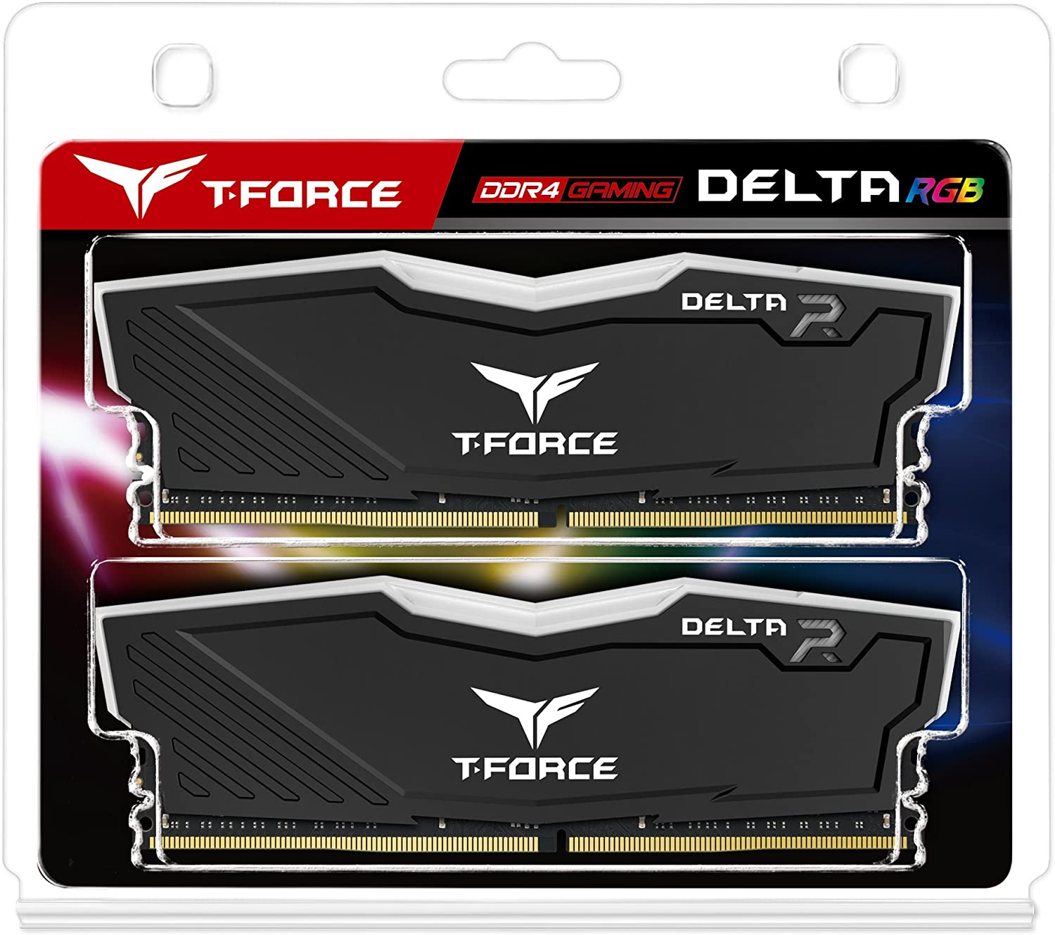 KIT RAM 2X16GB PC3600 T-FORCE DELTA GAMING