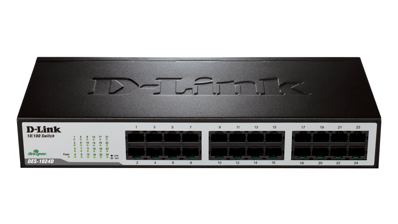 SWITCH 24 PORTE D-LINK RACK 10/100 DES-1024D