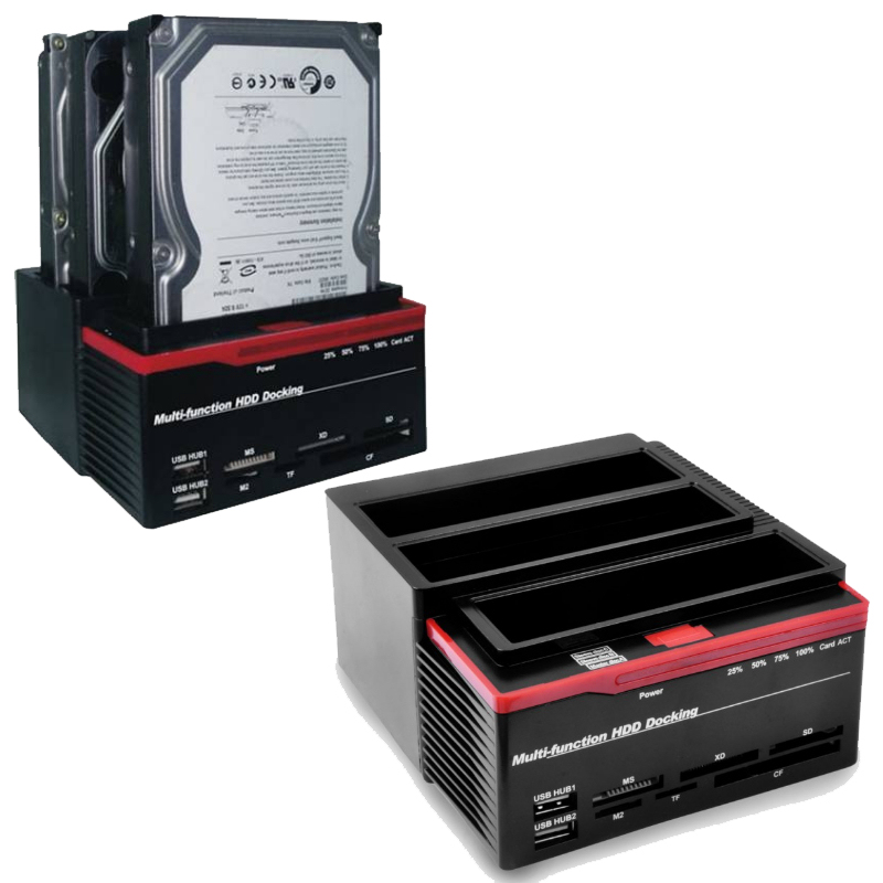 DOCKING STATION 3 HDD IDE/SATA USB