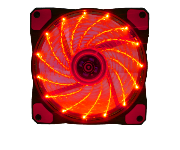 FAN GAMMEC 32LED RED FG32RE DA 12X12