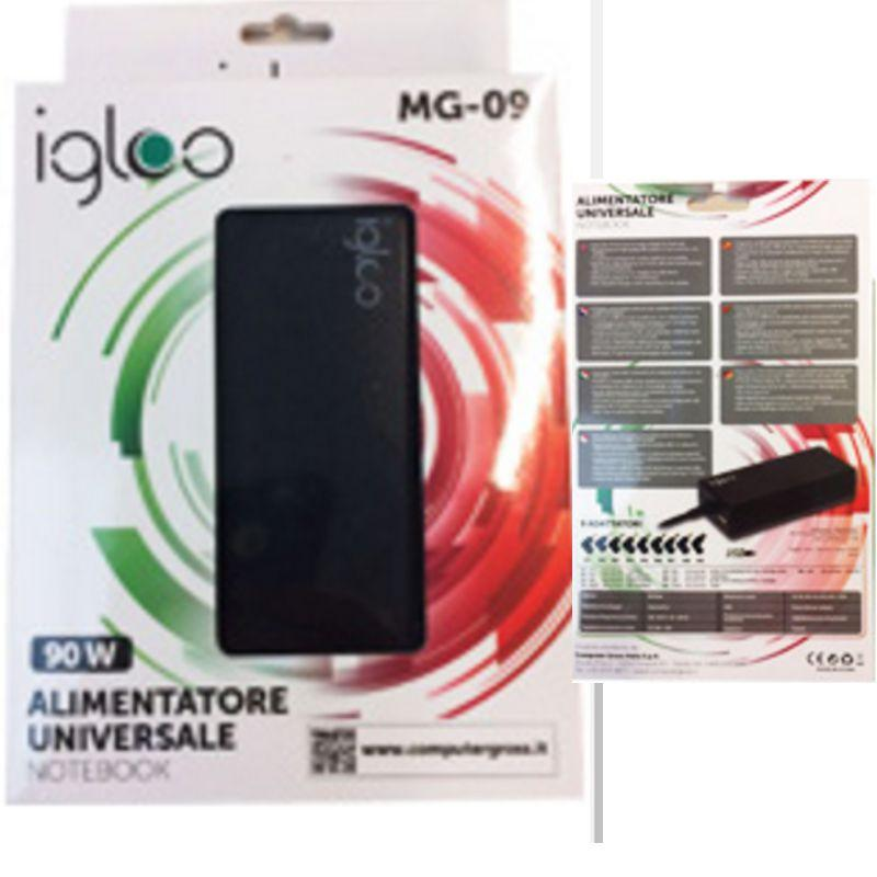 ALIM. PER NOTEBOOK 90W IGLOO 9 JACK +USB