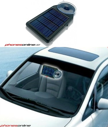 IN CAR SOLARE CHARGER SOLARE NILOX