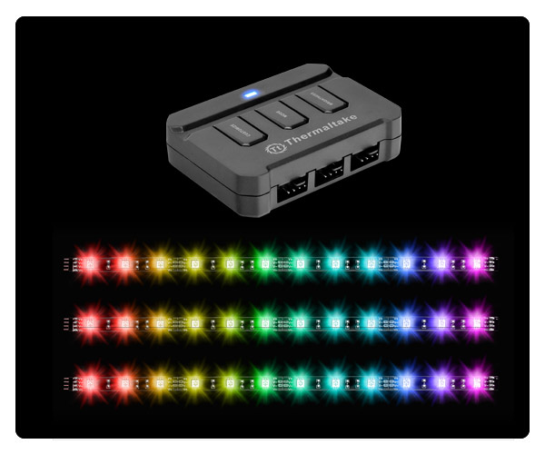 THERMALTAKE LUMI COLOR RGB 256C STRIP X3