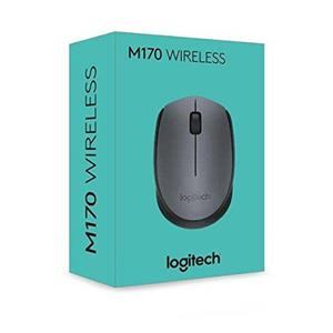MOUSE WIRELESS LOGITECH B170 GRIGIO