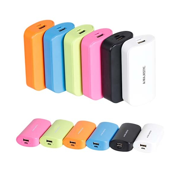 POWER BANK MAJESTIC 5200mAh PBK-52