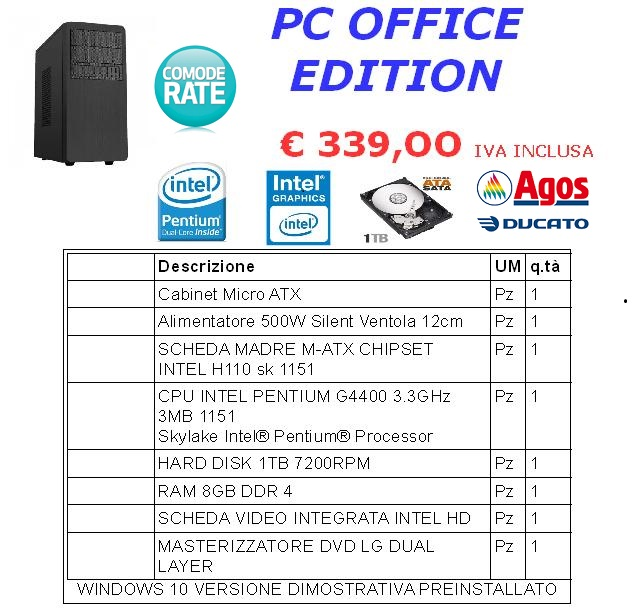PC OFFICE EDITION