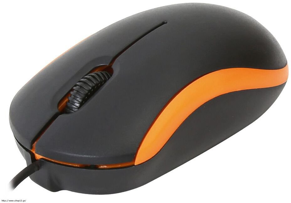 MOUSE OMEGA OPTICAL WIRED USB 1000dpi