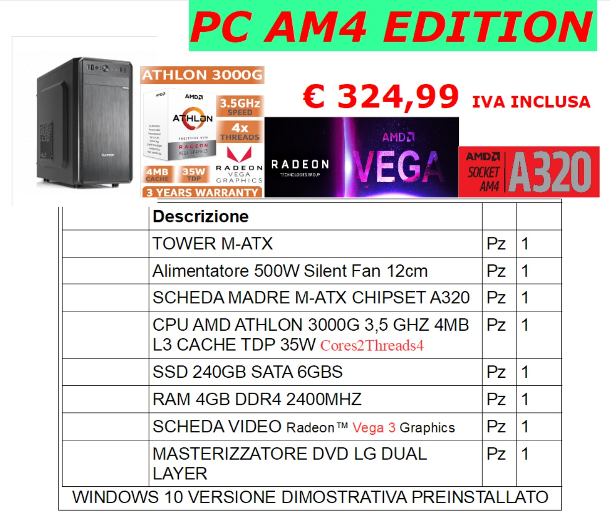 PC AMD AM4 EDITION