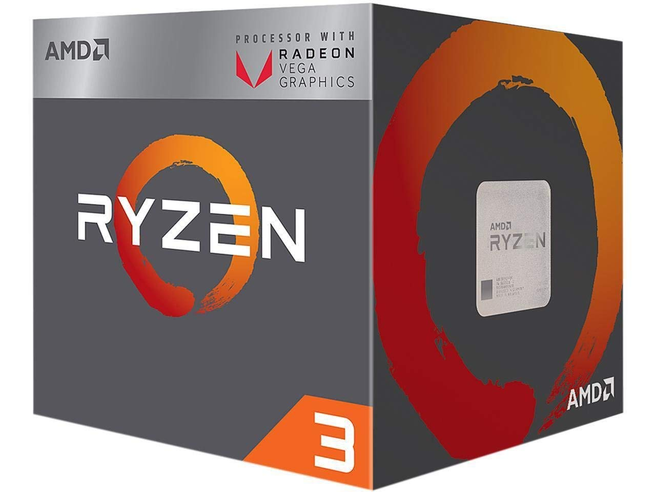 AMD RYZEN3 2200G QUADCORE AM4 3.5Ghz