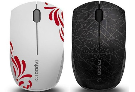 MOUSE MINI RAPOO 3300P PLUS WIRELESS