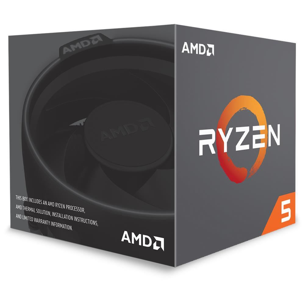 CPU AMD RYZEN5 1600 4.0 Ghz 19MB SK AM4