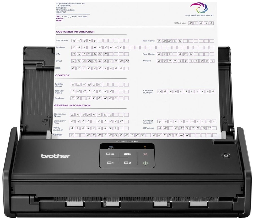 BROTHER SCANNER DOCUMENTALE CIS ADS 1100