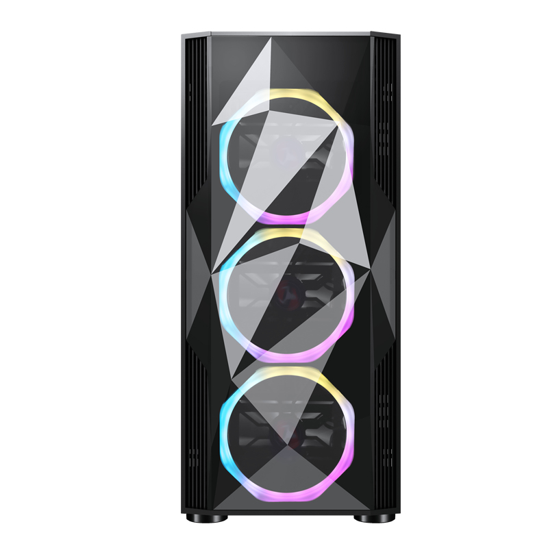 CASE SHAKE ITEK ARGB GLASS USB 3.0 ATX