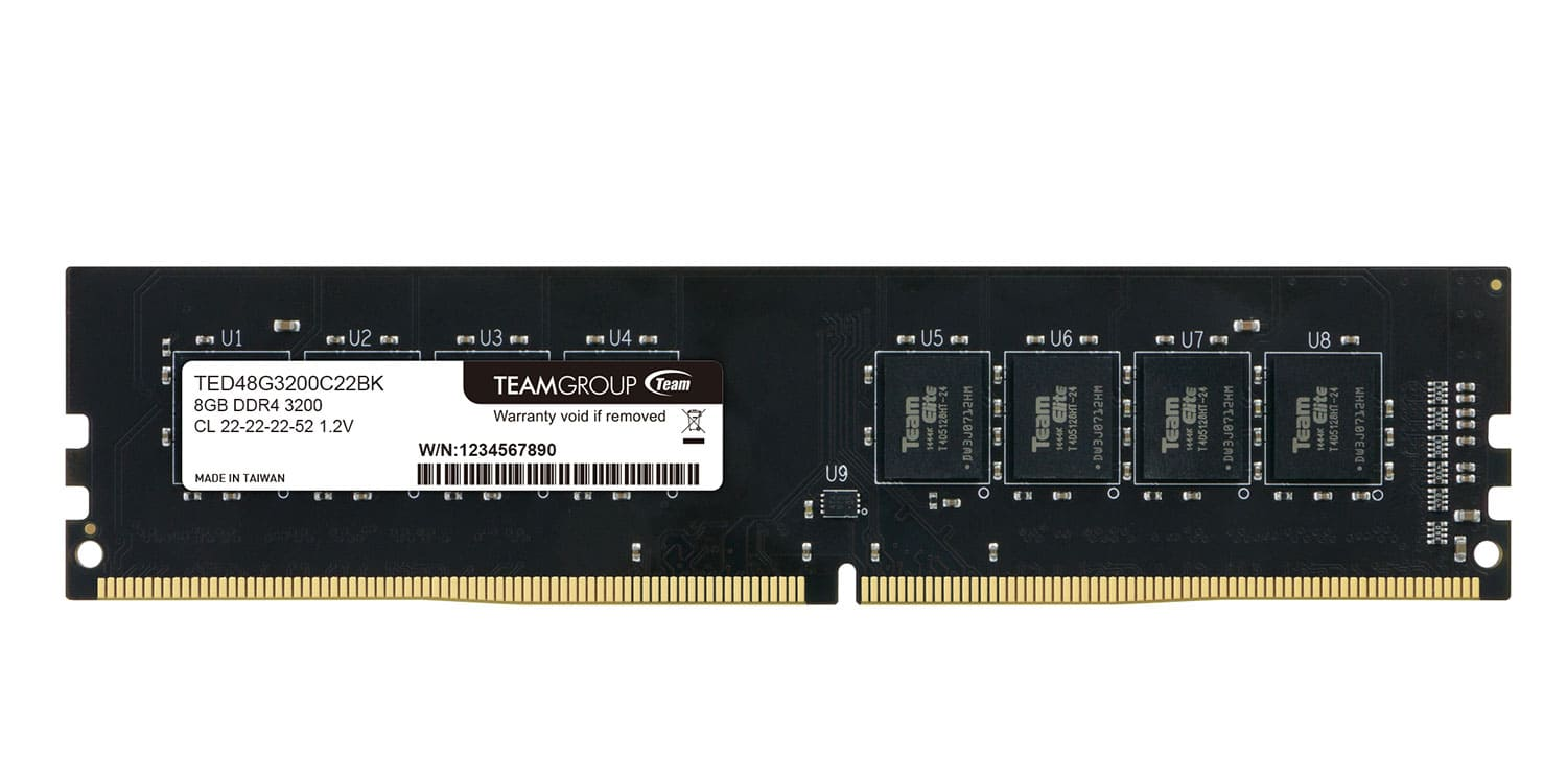 RAM TEAM GROUP ELITE 8GB 3200MHz DDR4