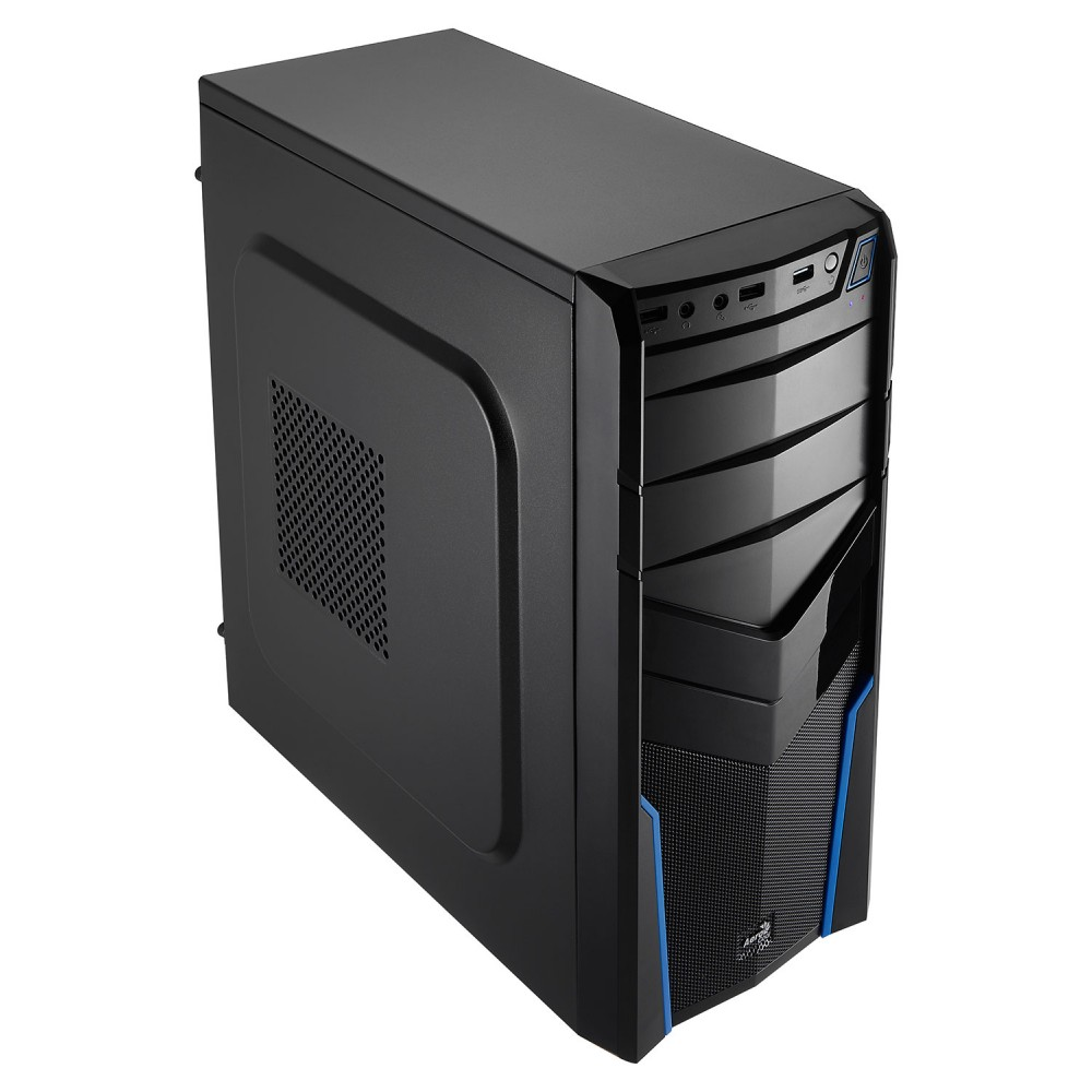 BOX AEROCOOL V2X ADVANCE ATX BLU