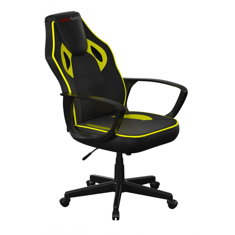 MARS GAMING SEDIA CHAIR MGC0BY YELLOW