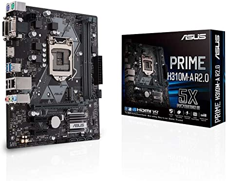 ASUS PRIME H310M-A R.2  DDR4 SK1151 ATX