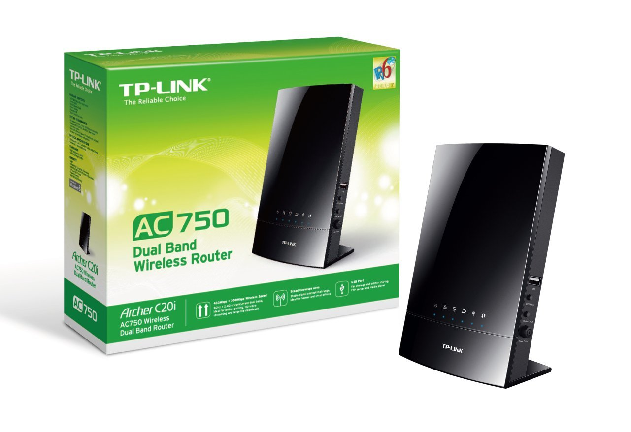 ROUTER WiFi TP-LINK ARCHER C20i AC750