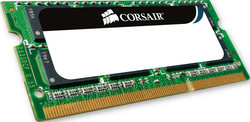 MEM CORSAIR 2GB PC800 CL5 DDRII NOTEBOOK