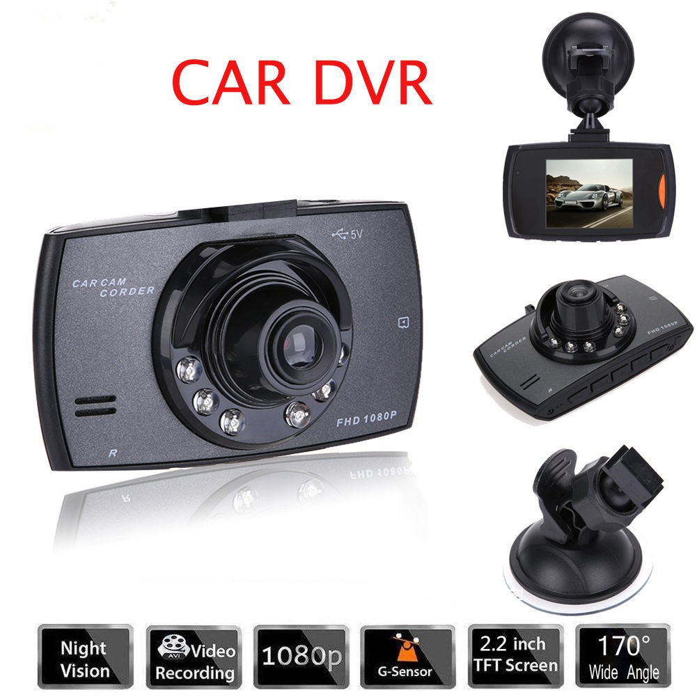 CAR CAMCORDER HD DVR 2,7TFT SOS