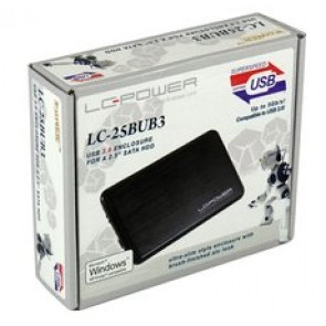 BOX LC-POWER 2.5 ULTRASLIM SATA USB2.0