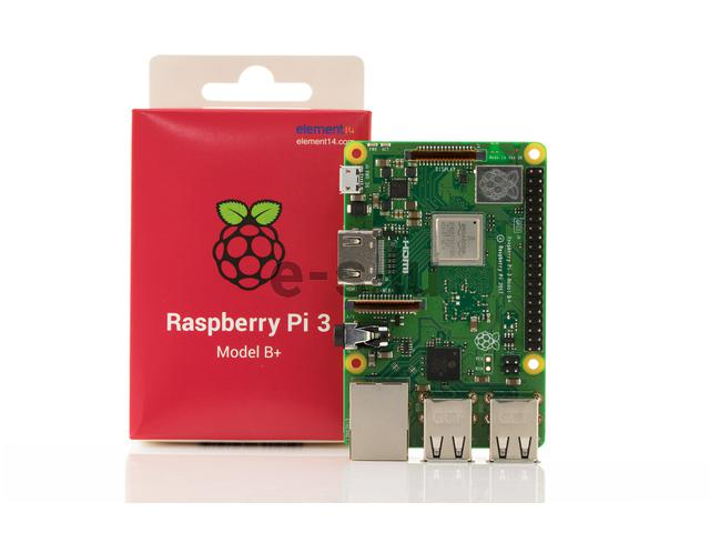 RASPBERRY Pi3 MODEL B+ 1GB/WI-FI/BT HDMI