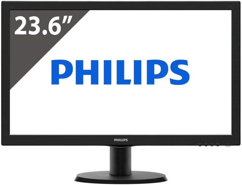 MONITOR PHILIPS 243V5LSB5  23.6 VGA HDMI LED