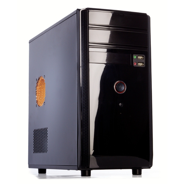 CASE ITEK SHADOW 500W FULL BLACK uATX