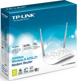 MODEM/ROUTER WiFi TP-LINK TD-W8961ND 300