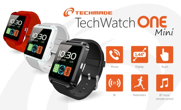 TECHMADE TECHWATCH MINI APPLE/ANDROID
