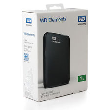 HD ESTERNO WD ELEMENTS 2.5 1TB USB3.0